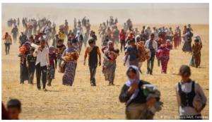 Refugiados e o sonho da terra prometida.