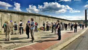 Muros que separam a sociedade.